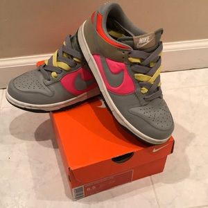 Nike low dunk multi color